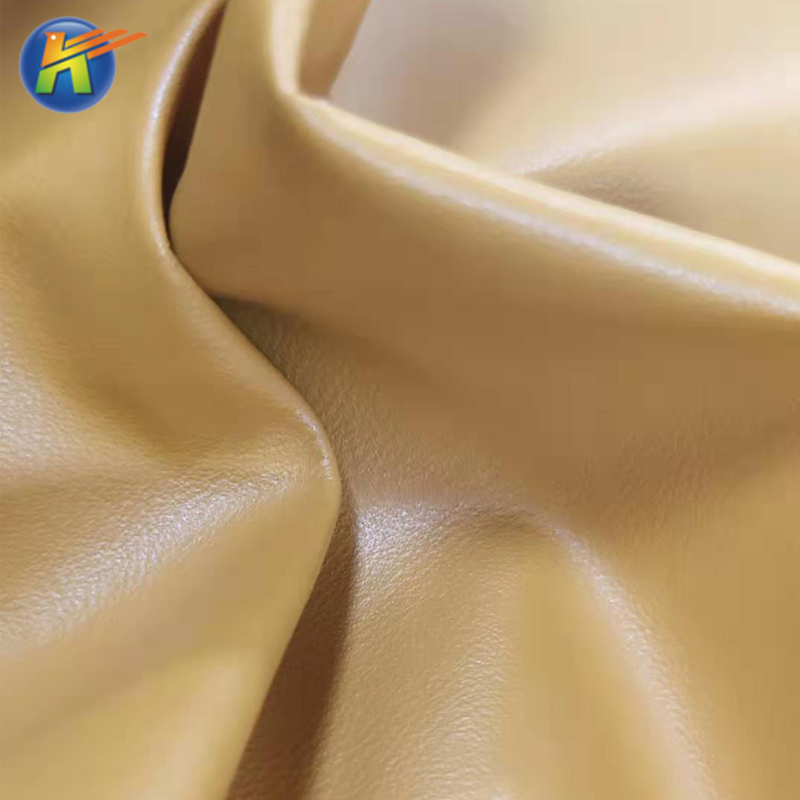 Fashion Microfiber PU Vegan Leather Fabric For Shoes Material From Factory