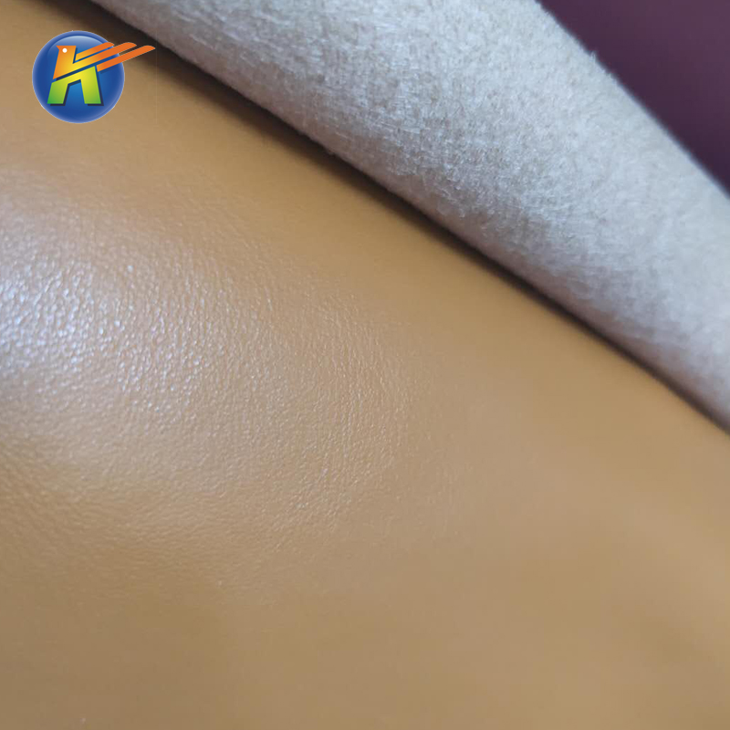 high quality Microfiber PU Fabric vegan Leather for sectional sofas material